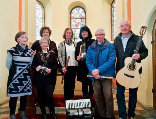 Frühlingskonzert in der Kirche zu Werben mit Hilmar Trappiel und Freunde