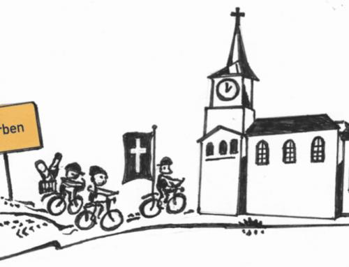Radfahrerandacht am 4. August 2019 in der Kirche Werben