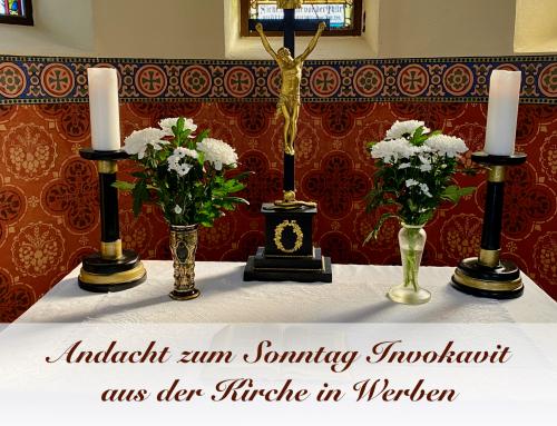Andacht zum Sonntag Invokavit aus der Kirche in Werben